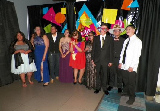 Maranatha students at Prom