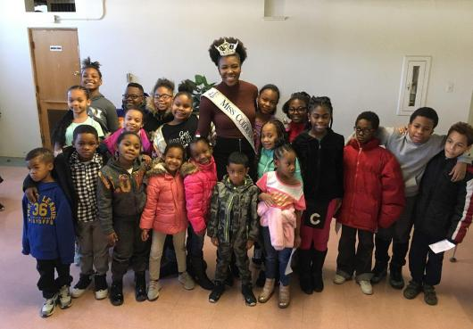 Miss Colorado visits HOPE Learning Center
