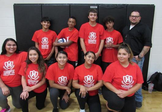 Awaken's High School Volleyball Team