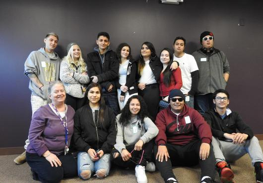 Students at HOPE Senior Day 2019