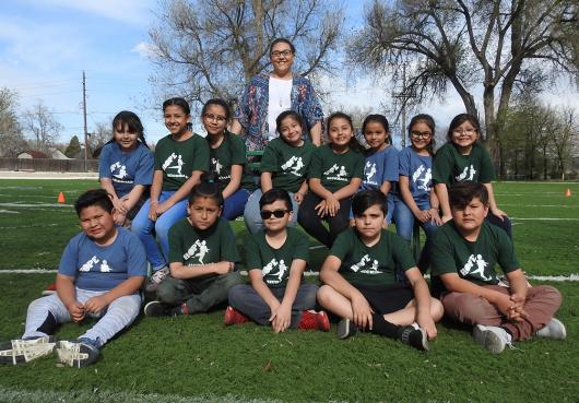 HOPE elementary kickball team