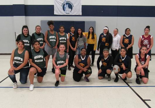 HOPE Girls High School Basketball 2019