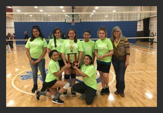 HOPE middle school volleyball championships