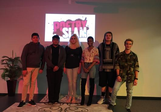 HOPE Slam Poetry Winners 2018