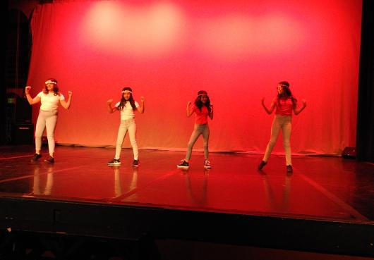 HOPE student dance in Talent Show 2019