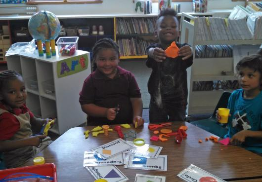 First Day of School Math Activity at Parkhill Academy